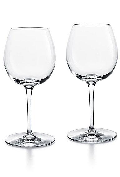 Baccarat Crystal, Oenologie Red Burgundy Glasses, Pair