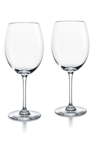 Baccarat Crystal, Oenologie Red Bordeaux Glasses, Pair