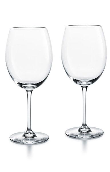 Baccarat Crystal, Oenologie Red Bordeaux Glasses, Pair