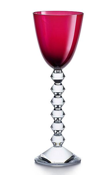 Baccarat Vega Rhine Wine Ruby, Single