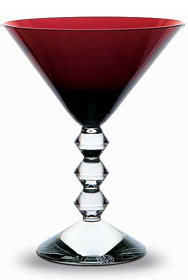 Baccarat Vega Ruby Martini, Single