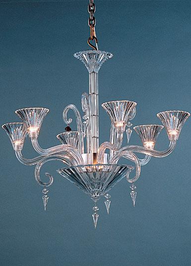 Baccarat Crystal, Mille Nuits 6 Light Chandelier