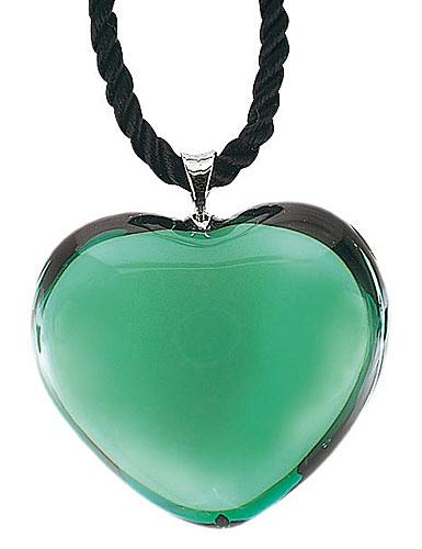 Baccarat Glamour Heart Pendant Jade