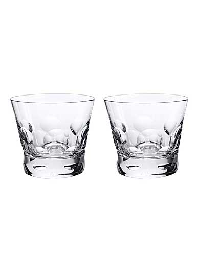 Baccarat Crystal, Beluga Crystal DOF Tumbler #2, Pair