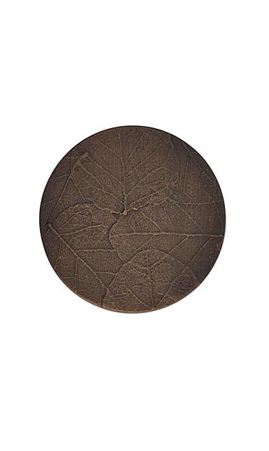 Michael Aram Hardware Forest Leaf Round Knob Oxidized