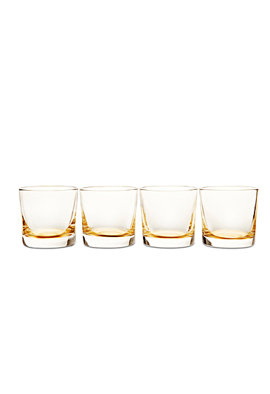Aerin Gold Glasses Set of Four