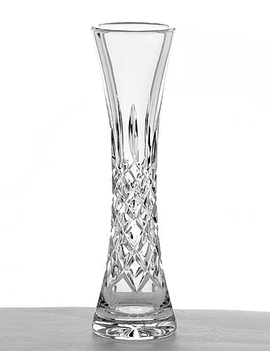 """Galway Crystal Longford 8"""" Bud Vase"""