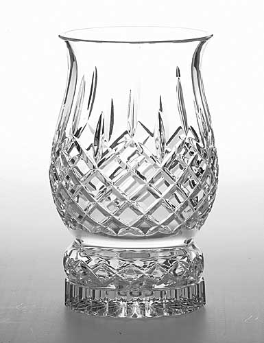 "Galway Crystal Longford 9"" Pillar Hurricane"