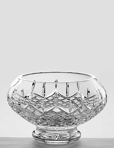 """Galway Crystal Longford 10"""" Footed Bowl"""