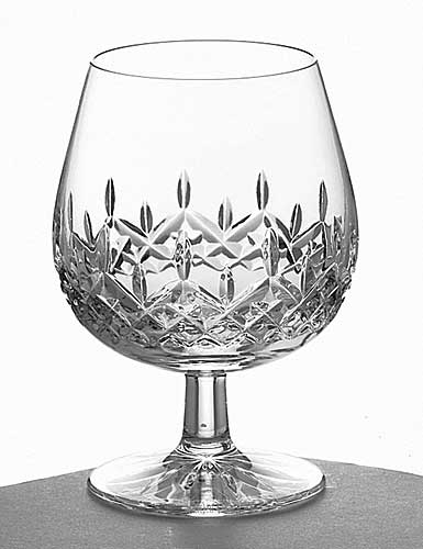 Galway Crystal Longford Brandy, Pair