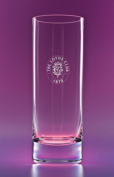 "Crystal Blanc, Personalize! 11"" Studio Crystal Vase"