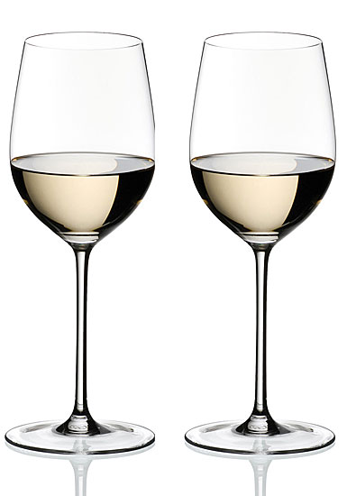 Riedel Sommeliers, Hand Made, Chablis Chardonnay Crystal Wine Glasses, Pair