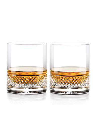 Cashs Ireland Cooper Straight Sided Bourbon 9oz. OF Glass, 1+1 Free