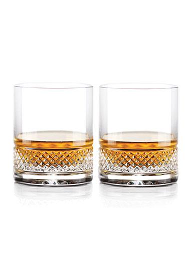 Cashs Ireland Cooper Straight Sided Bourbon 9oz. OF Glass, 1+1 Free