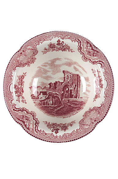 "Johnson Brothers China Old Britain Castles Pink 6"" Soup/Cereal Bowl"