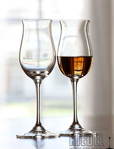 Riedel Sommeliers, Hand Made, Cognac V. S. O. P Crystal Glasses, Pair