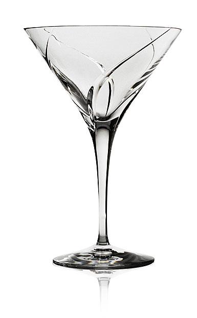 Steuben Whisper Martini Glass, Single