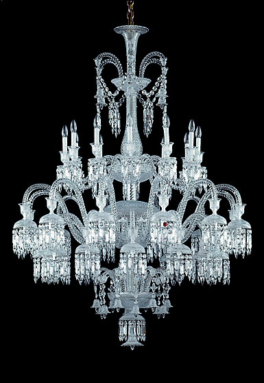 Baccarat Crystal, Solstice 36 Light Chandelier