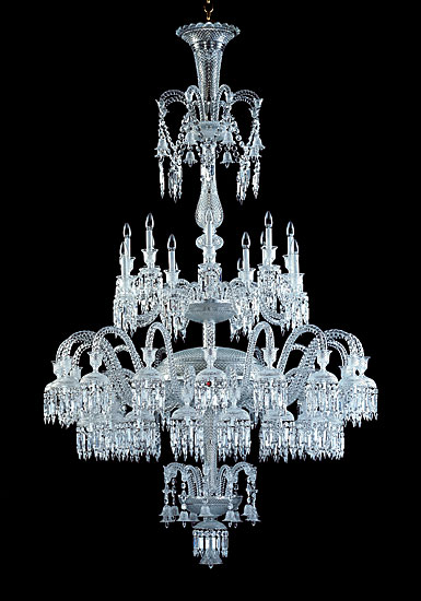 Baccarat Crystal, Solstice 48 Light Crystal Chandelier