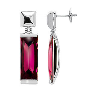 Baccarat So Insomnight Earrings, Pink Mordore