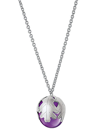 Baccarat Murmure Large Necklace, Purple Crystal