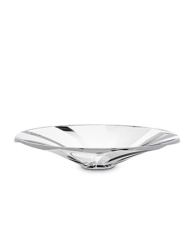 "Baccarat Crystal, Objectif 13"" Crystal Bowl, Large"