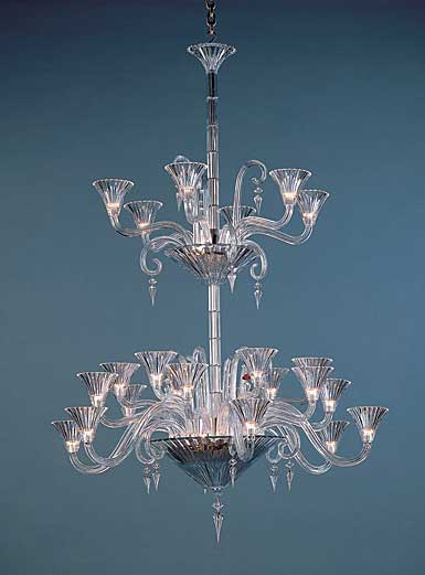 Baccarat Crystal, Mille Nuits 24 Light Crystal Chandelier