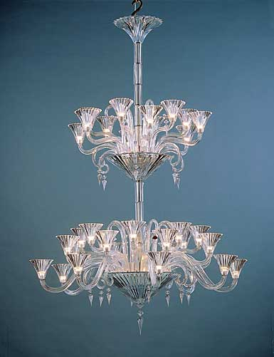 Baccarat Crystal, Mille Nuits 36 Light Crystal Chandelier