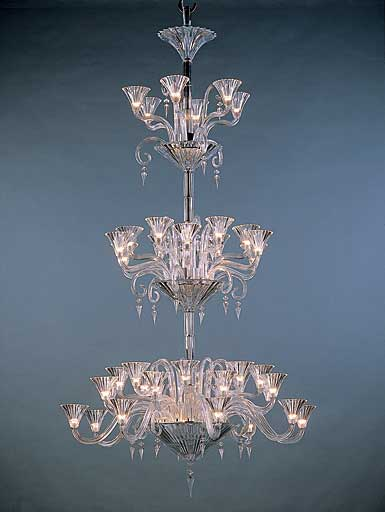 Baccarat Crystal, Mille Nuits 42 Light Crystal Chandelier