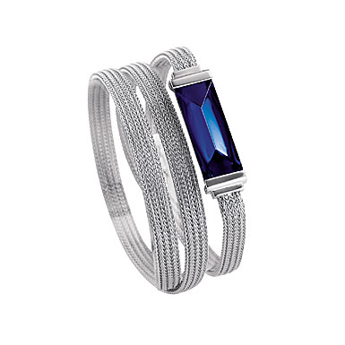 Baccarat So Insomnight Double Bracelet, Blue Mordore