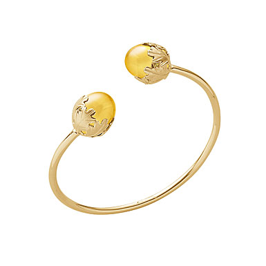 Baccarat Murmure You & Me Bracelet, Yellow Crystal