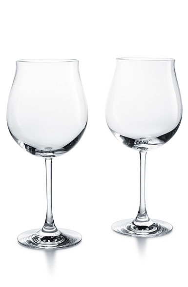 Baccarat Degustation Grand Burgundy, Boxed Pair