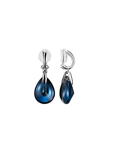 Baccarat Psydelic Clip-on Earrings, Riviera Clear Crystal