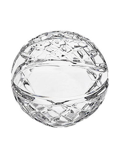 Waterford Crystal, Blank Panel Basketball Paperweight