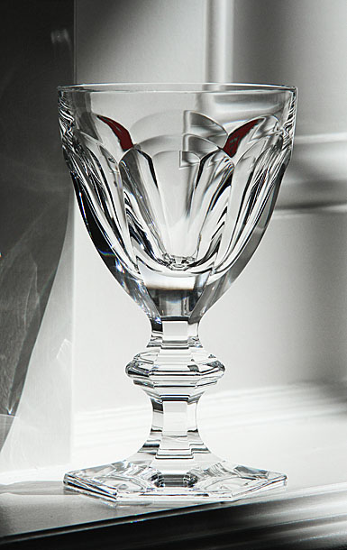 Baccarat Crystal, Harcourt Eve American Water Glass, Single