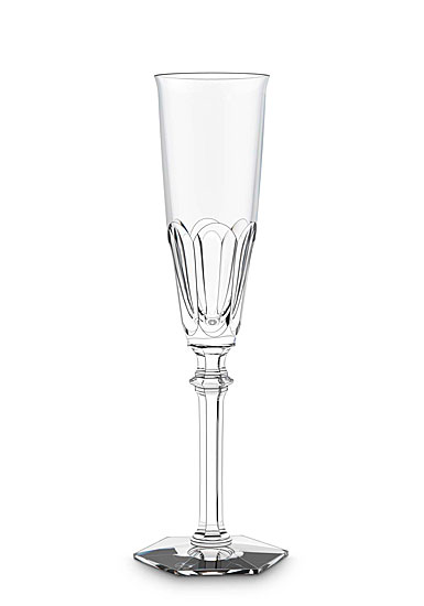 Baccarat Crystal, Harcourt Eve Crystal Champagne Crystal Flute, Single