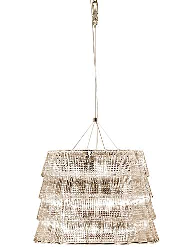 Baccarat Crystal, Tuile De Cristal Piccadilly Crystal Chandelier, Medium