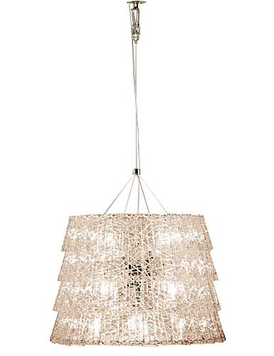 Baccarat Crystal, Tuile De Cristal Frozen Crystal Chandelier, Medium