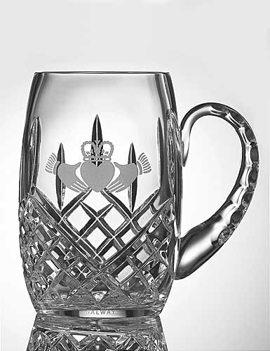 Galway Crystal Claddagh Friendship Tankard