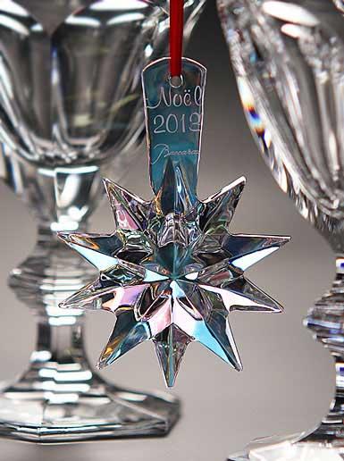 Baccarat Christmas Ornaments
