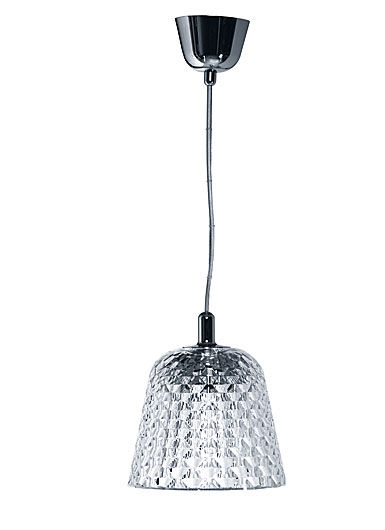 Baccarat Crystal, Candy Small Ceiling Crystal Lamp Chrome