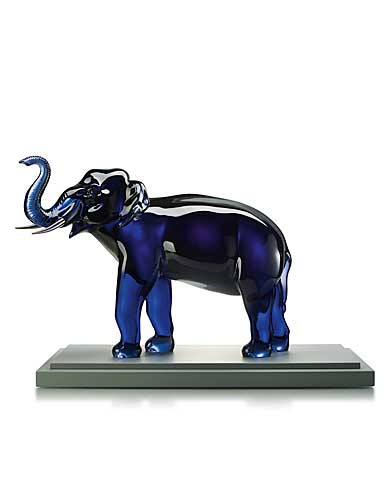 Baccarat Crystal, Midnight Elephant, Limited Edition