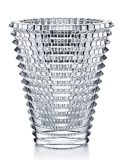 Baccarat Crystal, Eye Extra Large Oval Crystal Vase, Clear