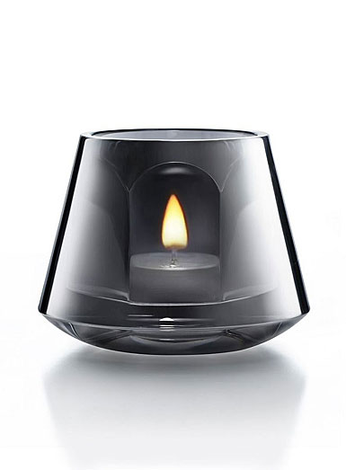 Baccarat Harcourt Baby Our Fire Votive, Silver