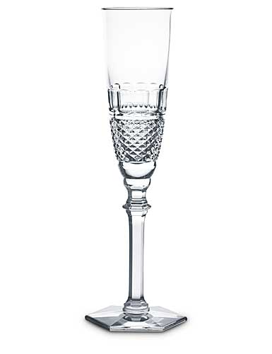 Baccarat Crystal, Diamant Champagne Crystal Flute, Single