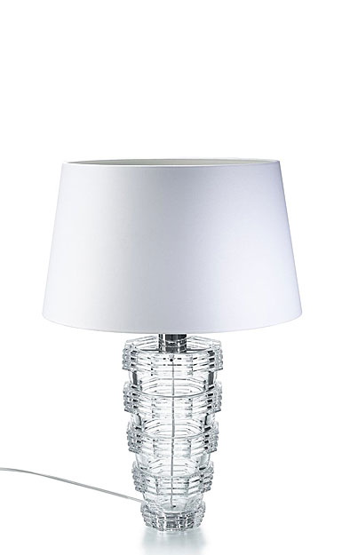 Baccarat Crystal, Heritage Cordon Crystal Lamp