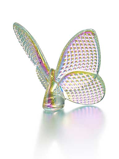 Baccarat Crystal, Lucky Butterfly, Diamante Diamond Iridescent