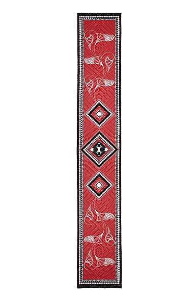 "Baccarat Louxor Silk Maxi Tie 12"" X 70"", Black"