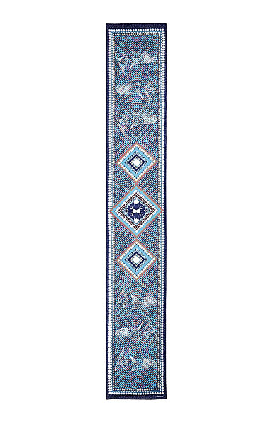 "Baccarat Louxor Silk Maxi Tie 12"" X 70"", Blue"