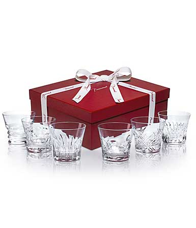Baccarat Crystal, Everday Classic Assorted Crystal DOF Tumblers, Set of 6